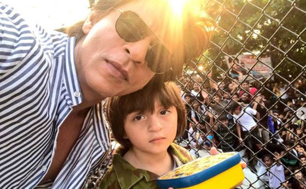 Gauri Khan shares picture of her 'KNIGHT RIDER' AbRam and you definitely need to see it (Source- SRK's Instagram)