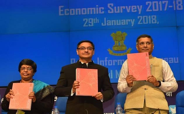 Economic Survey breaks stereotype, goes pink; evokes poets, Bollywood (Source: PIB)