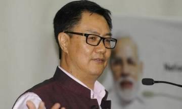 Naga poll boycott: Rijiju says elections a constitutional process