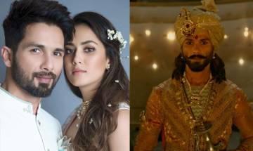Padmaavat: Mira Rajput REACTS to Shahid Kapoor's performance as Maha Rawal Ratan Singh