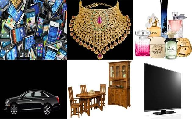 Union Budget 2018 Cars Cellphones Jewelry Home Products Be