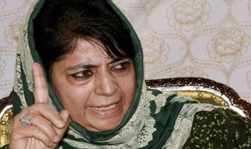 Can go to hell 100 times to save Kashmir, snaps Mehbooba Mufti