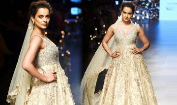 Lakme Fashion Week 2018: Kangana Ranaut looks ETHEREAL as she walks the ramp