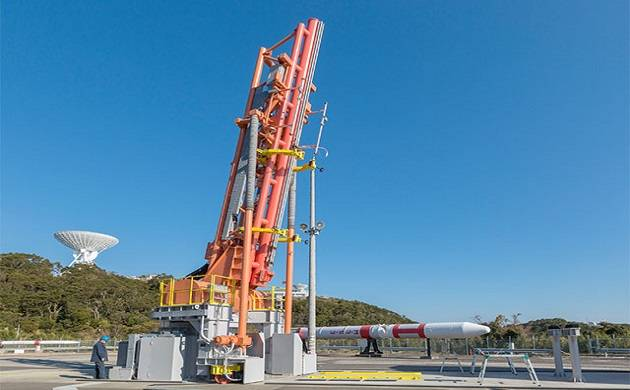 JAXA launched world s smallest rocket of 10 metres height with a micro satellite (Source: JAXA)
