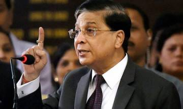 CJI Dipak Misra says no one can interfere between marriage of two adults