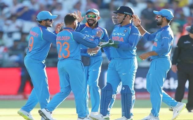 Men in Blue look to extend winning streak in Cape Town ODI(Source- BCCI Twitter)