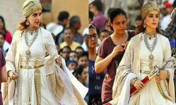 Kangana Ranaut dismisses rumours over romantic sequence in Manikarnika