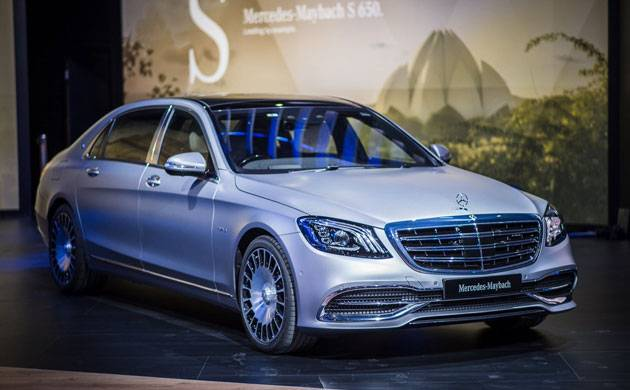 Auto Expo 2018 Mercedes Benz India Launches Maybach S650 Priced At