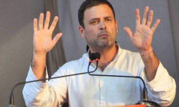 Rahul Gandhi says BJP, PDP running opportunistic alliance over soldier's death in Jammu and Kashmir