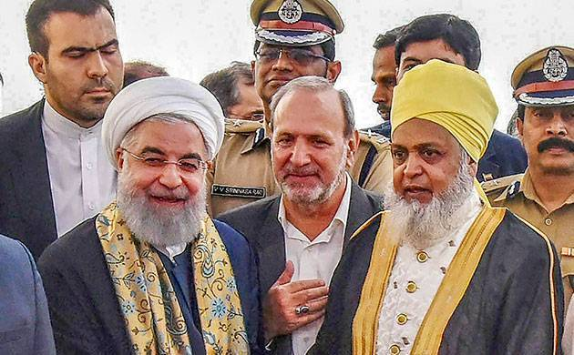 Iranian President Hassan Rouhani lauds India's diversity, peaceful co-existence of religions (Source: PTI)