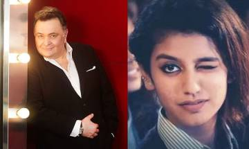 Rishi Kapoor praises Priya Prakash Varrier; here's what she has to say to 'Prince of Romance'