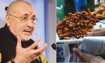 Union minister Giriraj Singh promises 5 crore jobs by next year, defends Modi's 'pakoda' selling remark