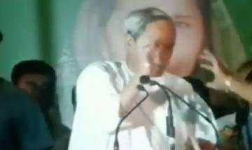 Odisha: Man hurls shoes at CM Naveen Patnaik, BJP flag recovered