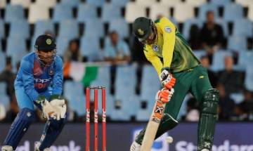 Klaasen's whirlwind cameo, skipper Duminy's fifty helps SA beat India in second T20 at Centurion