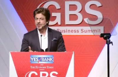 I should not be trolled for my star status, religion or handsomeness, says Shah Rukh Khan at Global Business submit