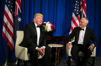 Donald Trump, Turnbull discuss ways to expand ties with India, Japan