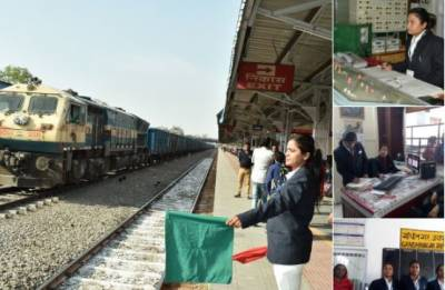 From selling and checking of tickets Rajasthan's Gandhi Nagar gets country's first all women operated non-suburban station