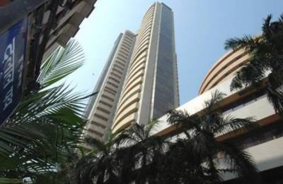 Sensex inches higher, Nifty above 10,500 on positive GDP data for December quarter