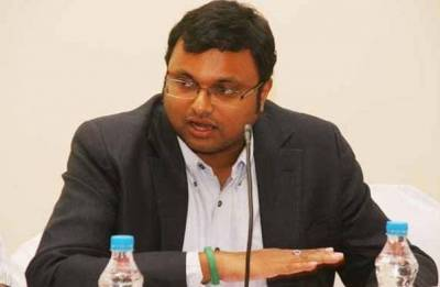 INX Media case: ED officials say Karti Chidambaram transferred Rs 1.8 crore to influential political figure's bank account