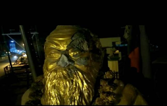 Tamil Nadu : Periyar statue installed in municipal corporation office vandalised in Vellore; BJP worker arrested (Source: Wikimedia Commons)