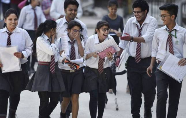 Class 12 English exam question paper easy but lengthy, say students (Source: PTI)