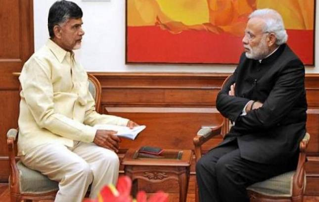 Andhra Pradesh special status row: 2 TDP union ministers hand over resignation to PM Modi (File Photo)