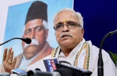 Bhaiyyaji Joshi re-elected as RSS general secretary for fourth term