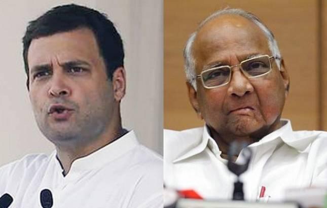Rahul Gandhi meets Sharad Pawar to forge anti-BJP alliance (File Photo)