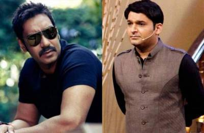 Ajay Devgn RAIDS sets of 'Family Time With Kapil Sharma' (see pics, video)