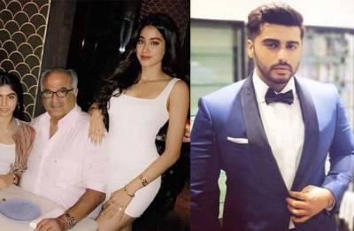 United Kapoor clan: Arjun Kapoor hosts SPECIAL family time for Boney Kapoor, Janhvi, Khushi