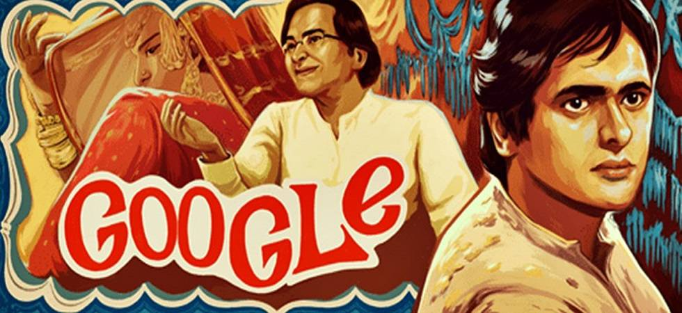 Google dedicates doodle to late actor Farooque Shaikh on his 70th birthday (Source- Google)