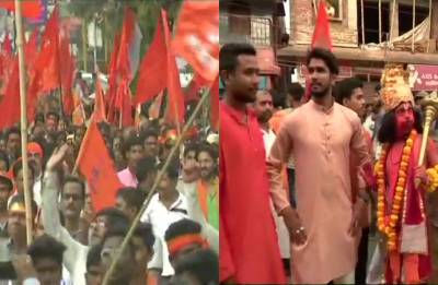 Clashes arise at BJP's Ram Navami rally in Bengal's Purulia, one dead