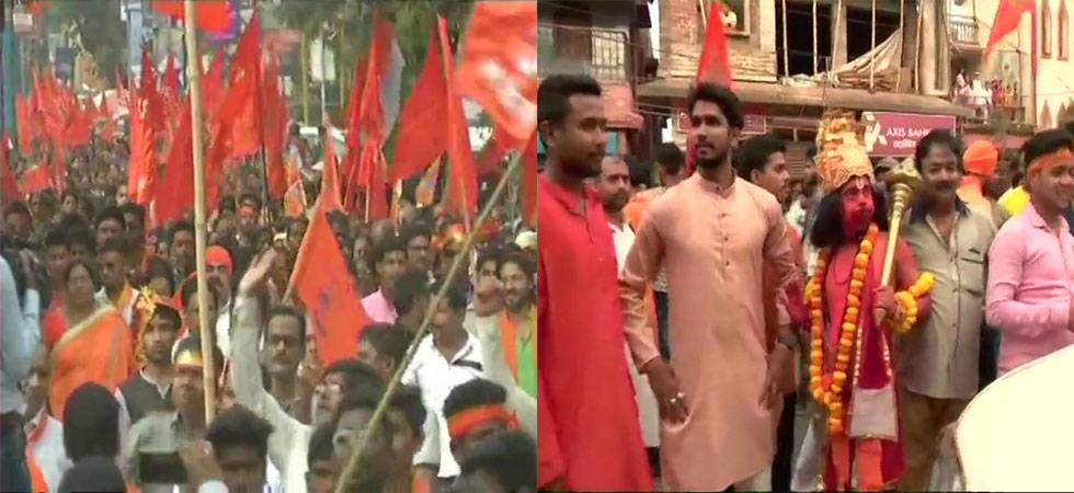 Clashes arise at BJP's Ram Navmi rally in Bengal's Purulia, one dead (Source: ANI)