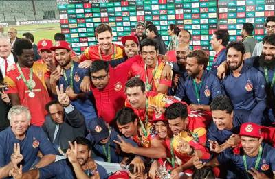Islamabad United clinch PSL title for second time at Karachi, Ronchi wins Man of the Series