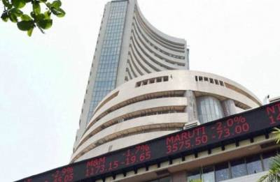 Sensex jumps 469.87 points to close at 33,066.41; Nifty surges 132.60 points to 10,130.65