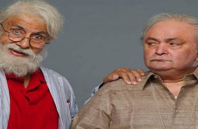 102 Not Out: Motion poster of Amitabh Bachchan, Rishi Kapoor starrer is out