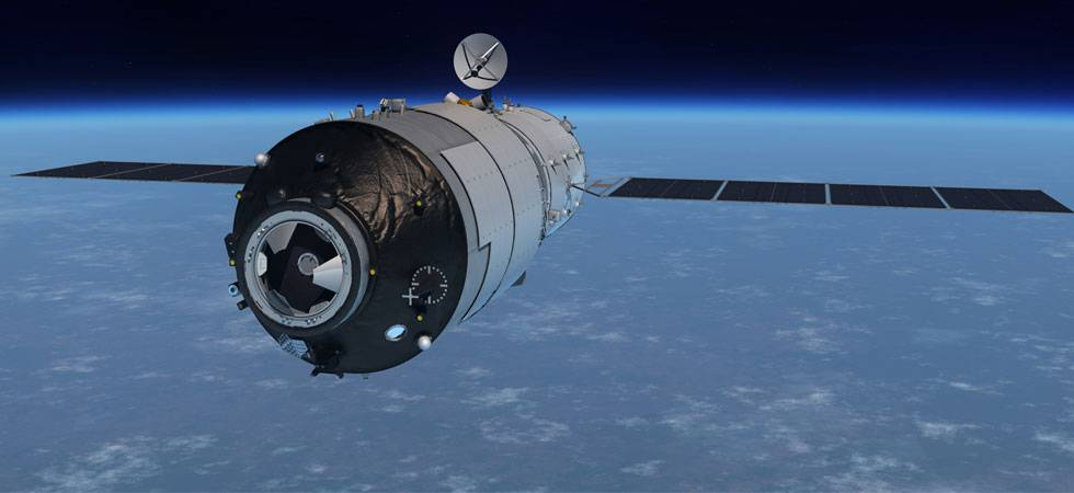 China's eight-tonne spacecraft Tiangong-1 likely to crash on Earth (Source: NASA)