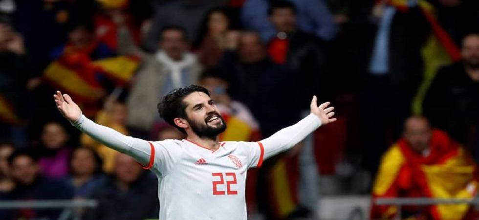 Isco scored a hat-trick against Argentina (image source: PTI)