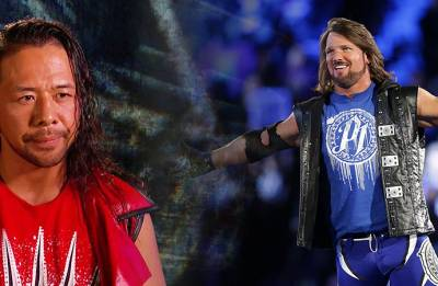 WWE Smackdown results: AJ Styles, Shinsuke Nakamura team up before their title match at Wrestlemania 34