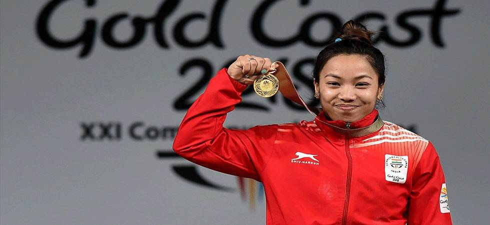 Mirabai Chanu wins gold medal in weightlifting(Source - PTI)