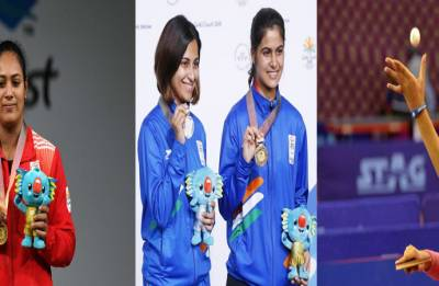 CWG 2018 | Day 4 Highlights: Women TT team fetch India HISTORIC maiden gold