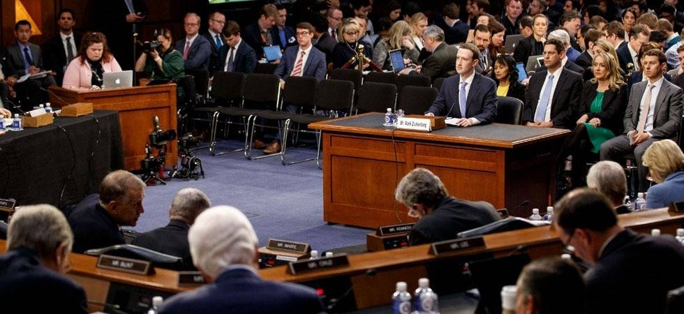 Mark Zuckerberg testimony to US Congress: Facebook's top priority is to fight fake news (Source- IANS)