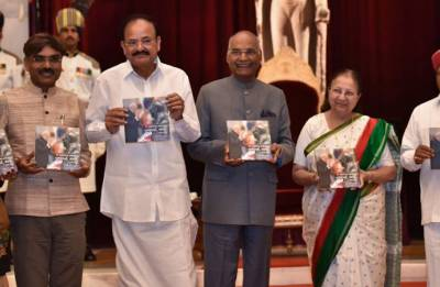 Ambedkar Jayanti Highlights: President Kovind, Venkaiah Naidu launch book on Dalit icon's life