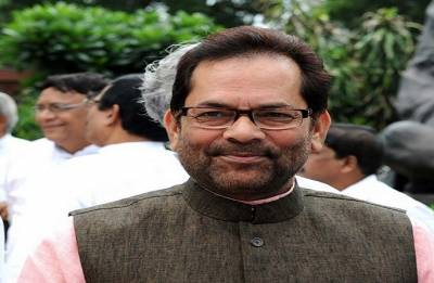 Rights of SC/ST, minorities 'absolutely safe' under Modi government, says Mukhtar Abbas Naqvi