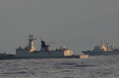 We see you: Indian Navy 'warmly' trolls Chinese warships in Indian Ocean