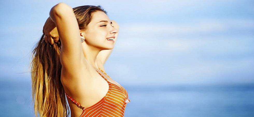 Easy tips for smooth and silky hair this summer (Representational Image)