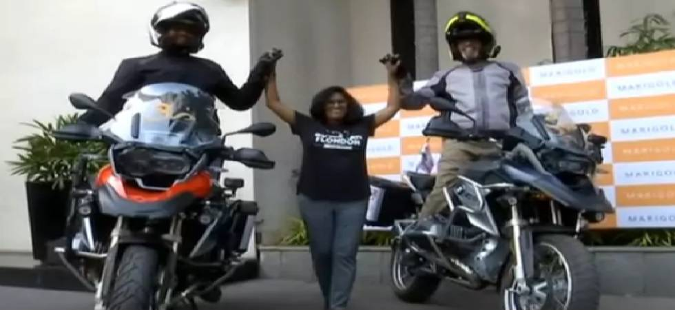Six Indian bikers to travel 16 countries with message 'One World, One Family' (Source: ANI)
