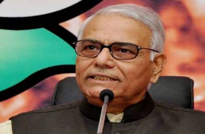 Former finance minister Yashwant Sinha quits BJP, says democracy in danger
