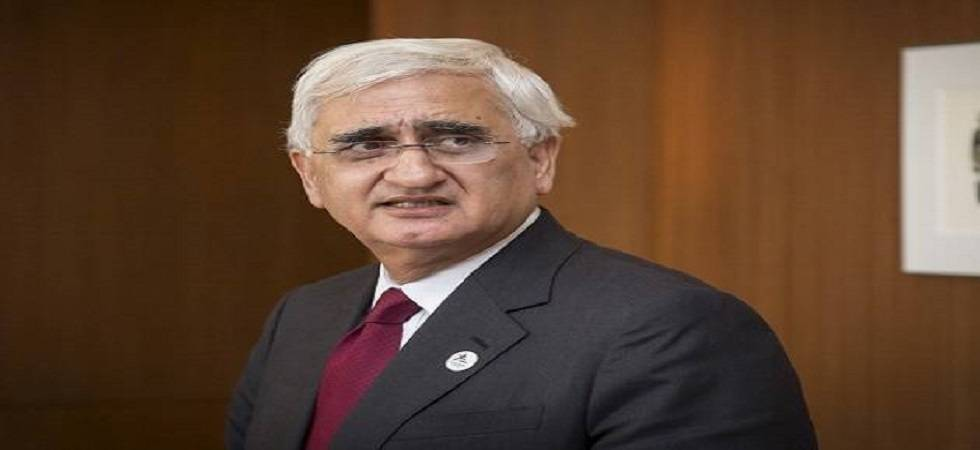 Congress' hands stained with blood, says Khurshid; BJP attacks Opposition