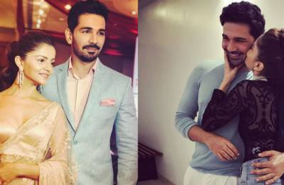 Wine, candlelight and ring: Abhinav Shukla proposes Rubina Dilaik in a romantic, classy way (see pic)